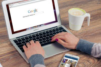 essere trovato su google